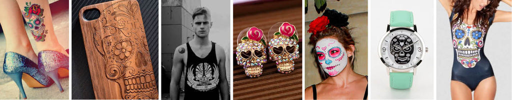 Sugar Skull Homeware and Tableware