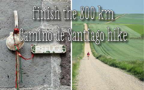 Sugar and Vice Awesome List - Finish the 800 km Camino de Santiago hike