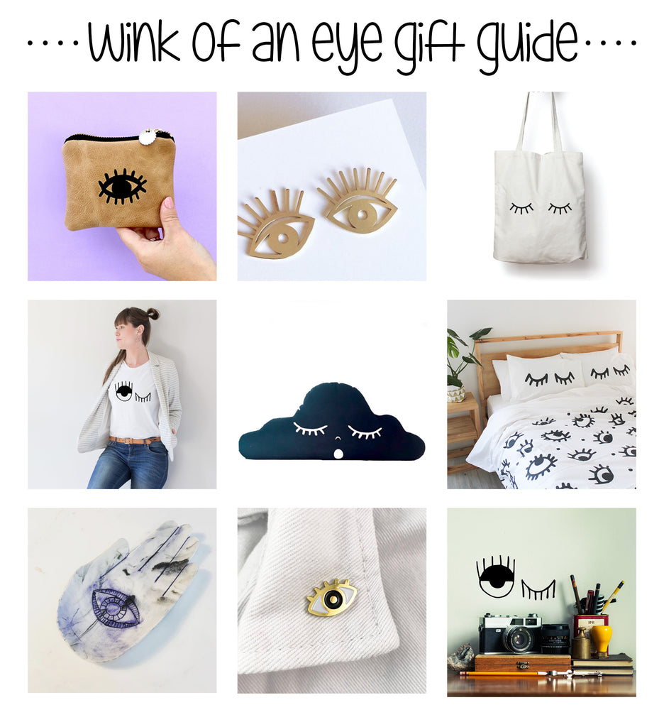 Christmas Gift Guide Winking Eye Obsessed Sugar and Vice 1