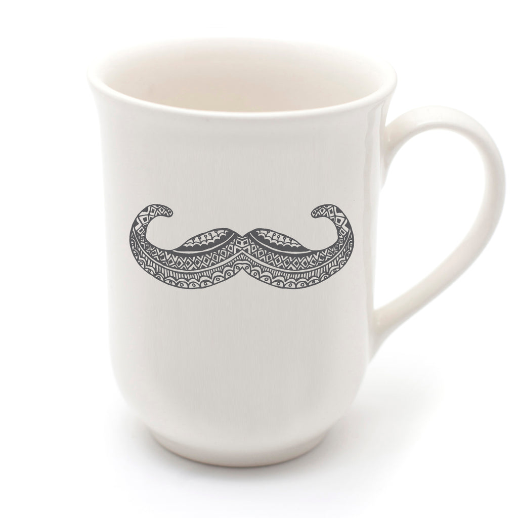 Our Movember Mug in the June issue of Baba en Kleuter