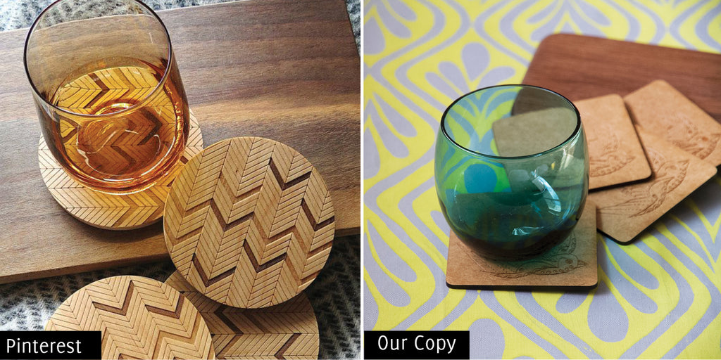 Copy Cats Wooden Coasters Sugarandvicesa