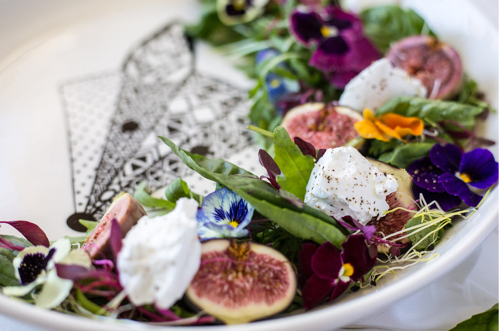 Fig & Goat's Cheese Clean Salad Recipe