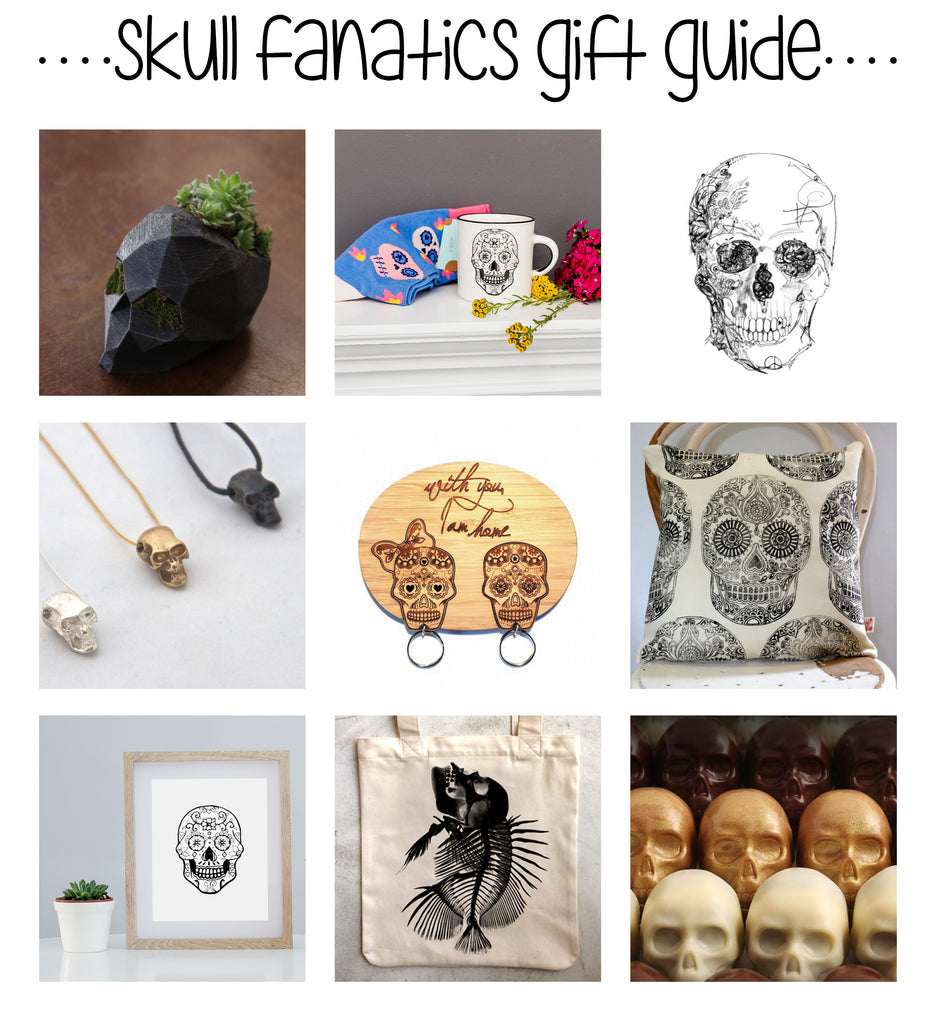 Christmas Gift Guide Skull Obsessed Sugar and Vice