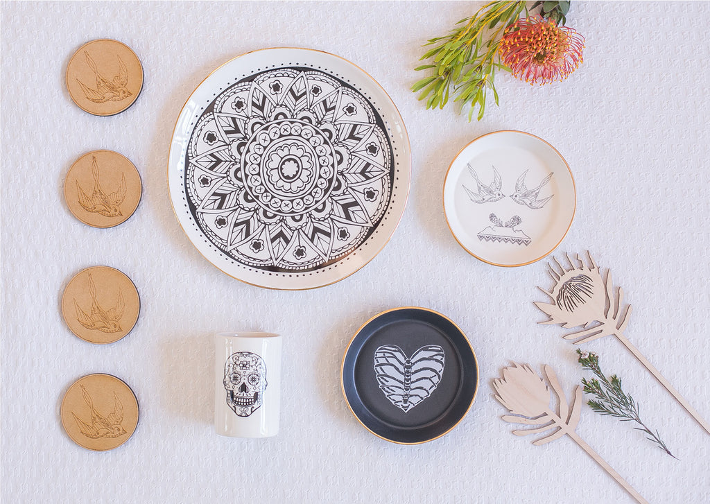 Handcrafted ceramics - Cape Town Sugar and Vice