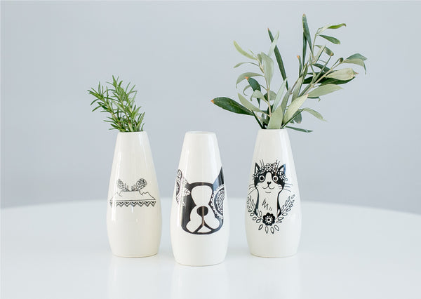Handcrafted vases ceramics - Cape Town Sugar and Vice
