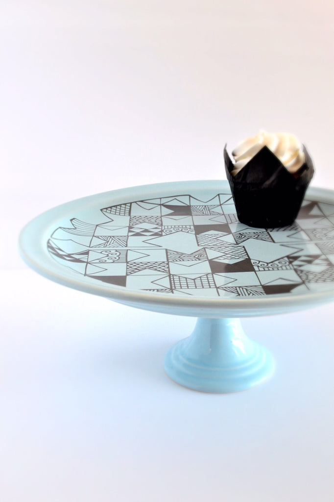 Sugar and Vice Cake Stand