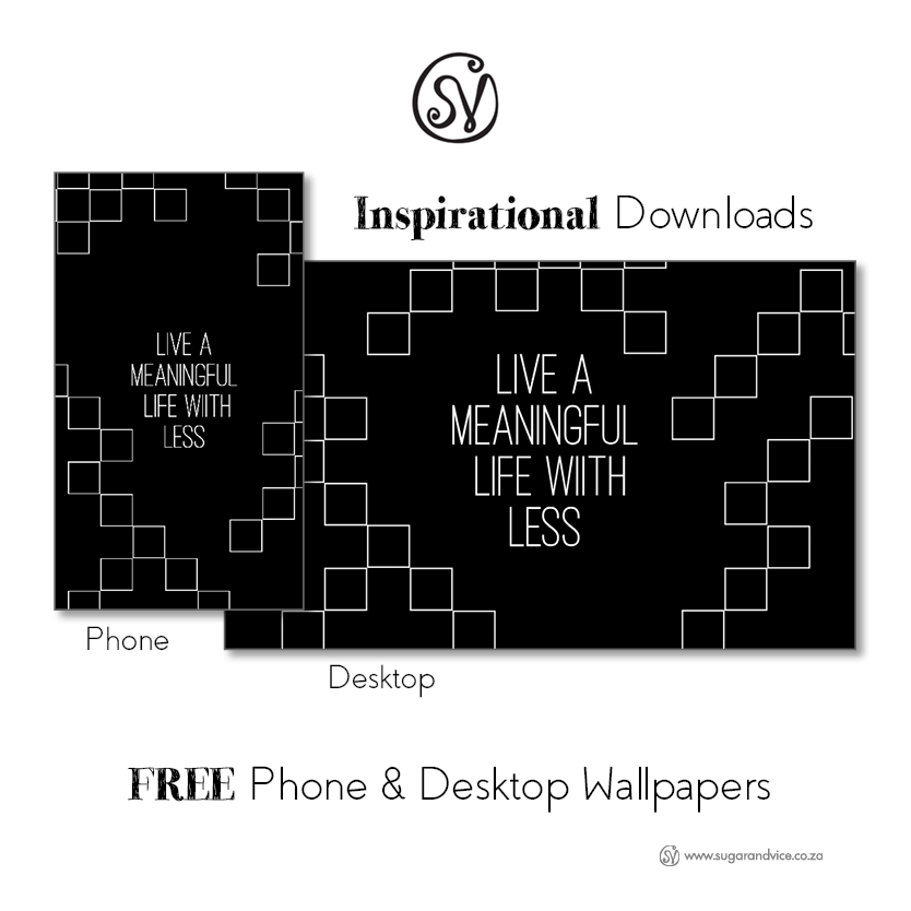 Free Inspirational Minimalist Wallpaper download