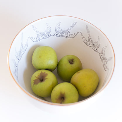 Buy-swallow-limited-edition-gold-rimmed-ceramic-handmade-bowls-cape-town