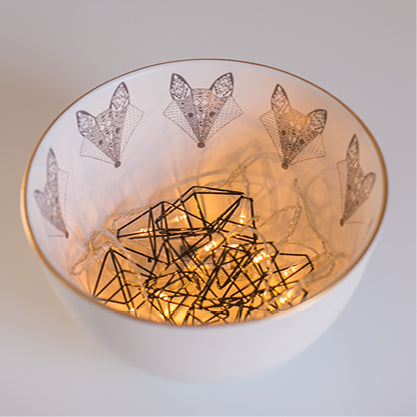 Buy-fox-limited-edition-gold-rimmed-ceramic-handmade-bowls-cape-town