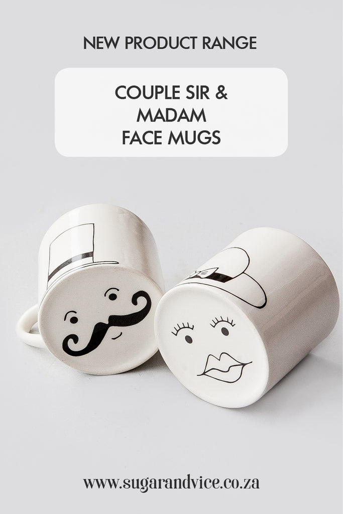 New egg cups and face mugs - Sugar and Vice - Pinterest