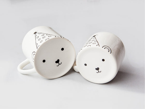 New matching party bear mugs for mommy and toddler online - Sugar and Vice