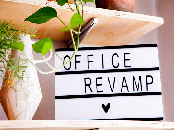 Revamped home office Pinterest Style - Sugar and Vice