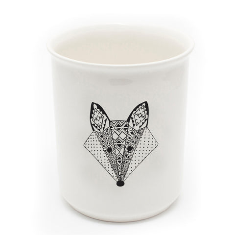 Sugar and Vice Fox Utensil Holder