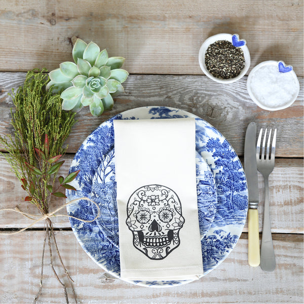Sugar and Vice Sugar Skull Napkins