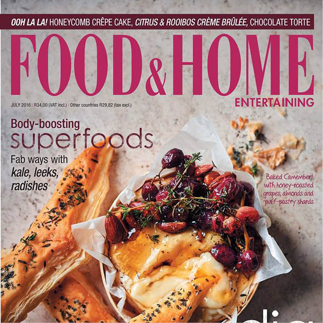 Sugar and Vice in Food and Home July 2016 - media press