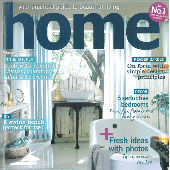 Sugar and Vice in Home Magazine