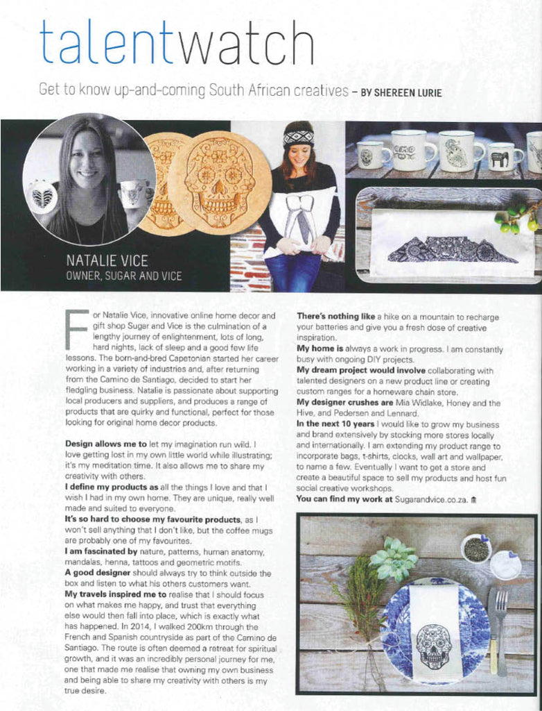Interview with Natalie Vice in Home Owner