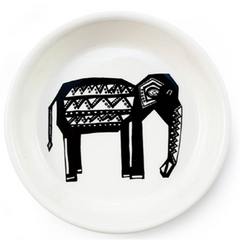Tribal Oliphant Tapas Bowl