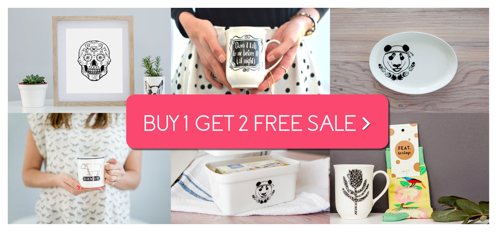 Buy one, Get two free sale online - Sugar and Vice