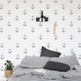 Anchor pattern wall decals online - Sugar and Vice