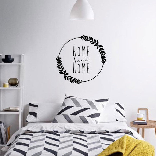 Black Home Sweet Home Quote Wall Decals Online   Sugar And Vice Part 78