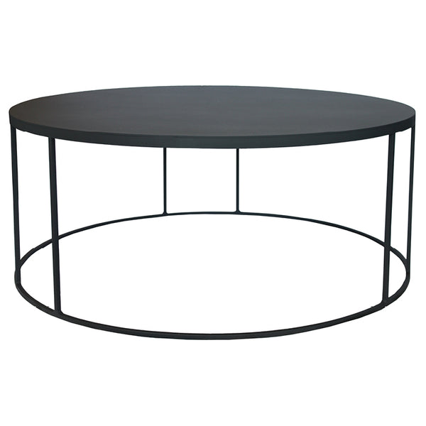 round black coffee table. Black Steel Round Coffee Table Online - Sugar And Vice