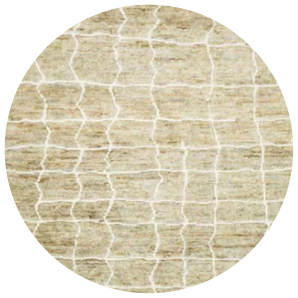 Criss cross lines massa natural wool rug online - Sugar and Vice