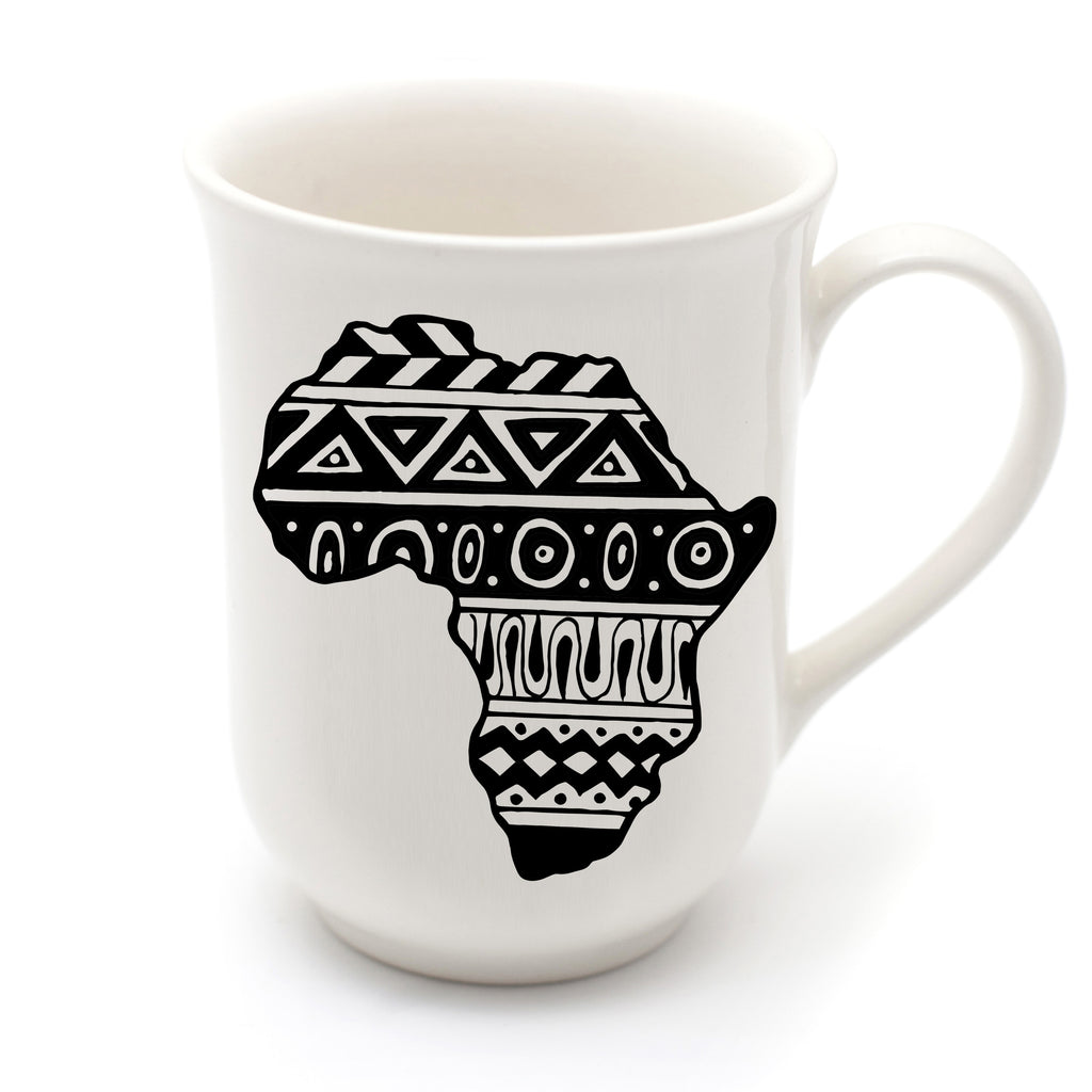 handcrafted africa mug - sugar and vice