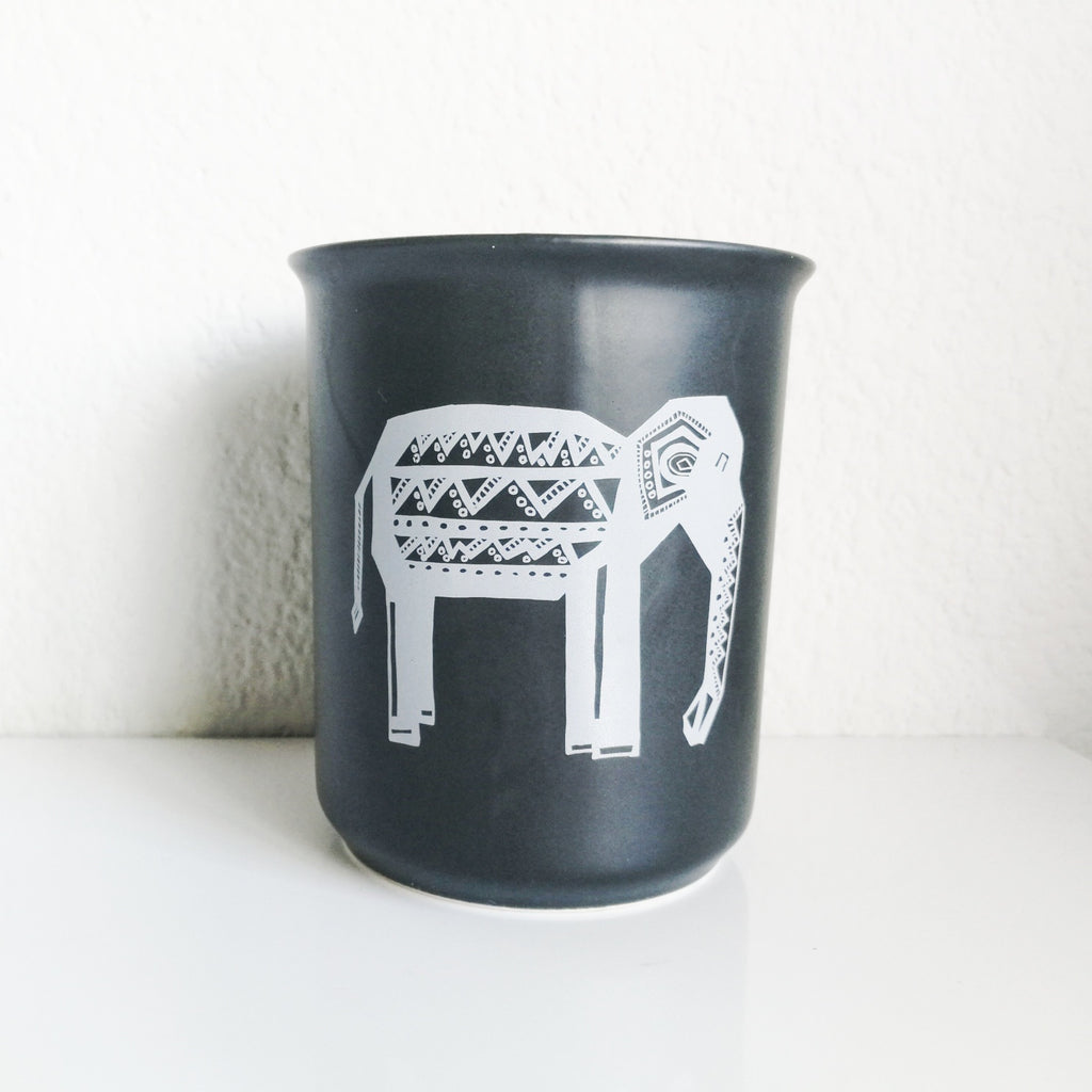 Utensil Holder - Tribal Oliphant