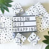 Get your handmade gifts Custom Gift Wrapped by Sugar and Vice