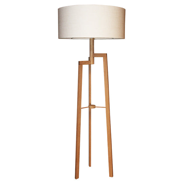 Jaggered wooden floor lamp online - Sugar and Vice
