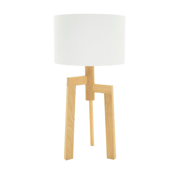 Jaggered wooden table lamp online - Sugar and Vice