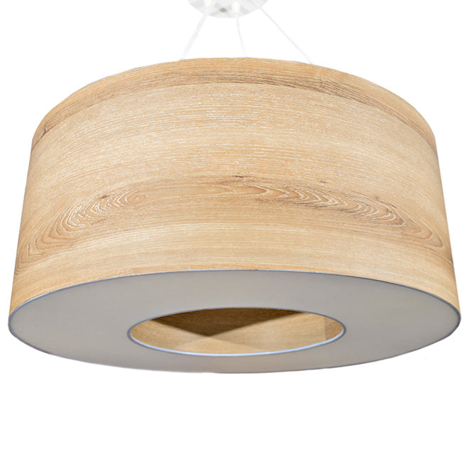 Natural donut wood pendant lights online - sugar and vice