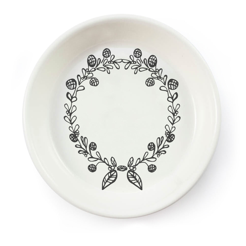 Buy a wreath ceramic bowl online