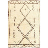 Tribal Totem natural wool rug online - Sugar and Vice