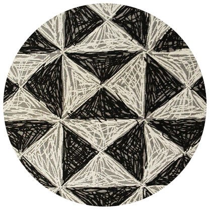 White and black synthetic rug online - Sugar and Vice