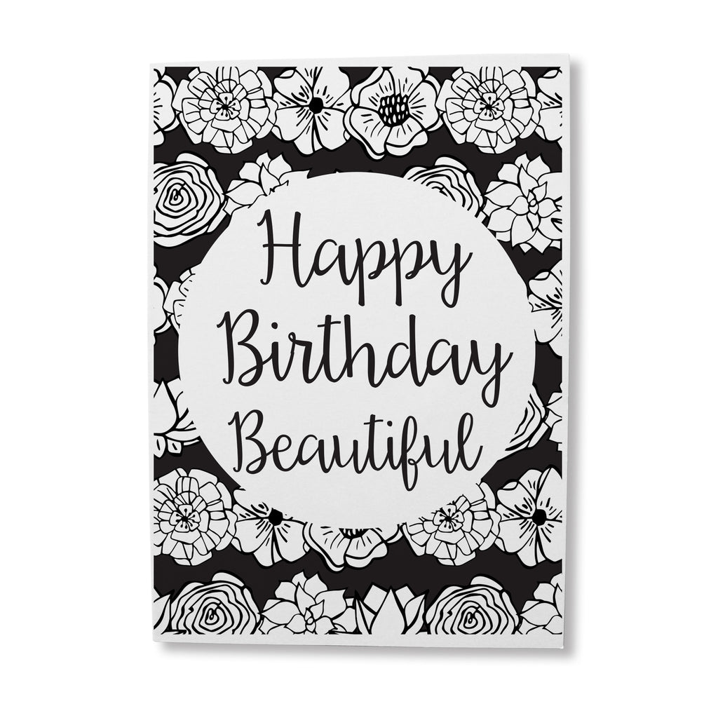 Flower Birthday Greeting Card Online Sugar And Vice South Africa