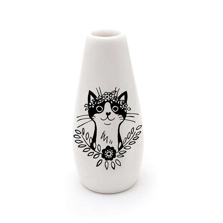 Bohemian Cat Ceramic Vase Online Sugar And Vice South Africa