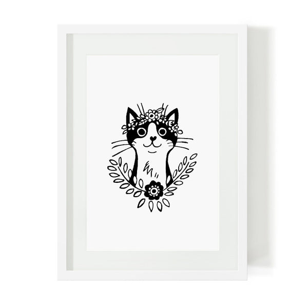 buy-art-prints-cape-town-bohemian-cat-south-africa-home-decor