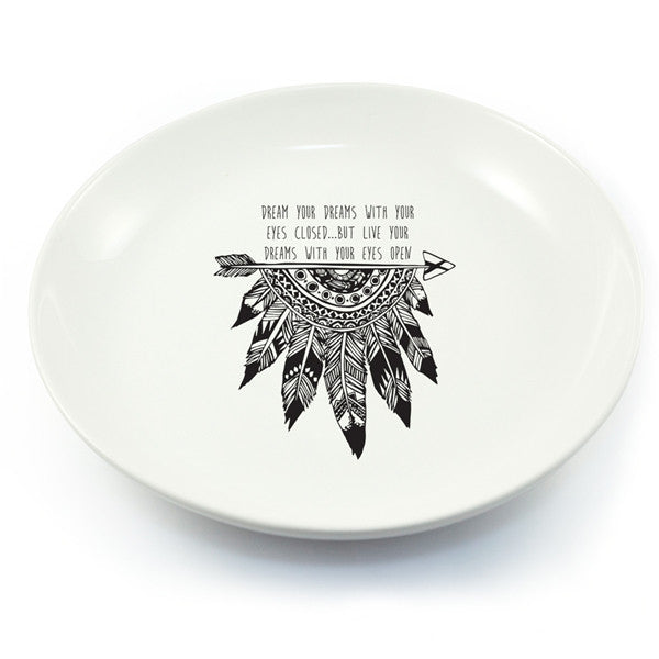 Feather Dreams Salad Bowl