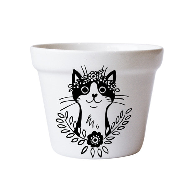 buy-plant-pots-ceramic-handmade-cat-south-africa-cape-town-home-decor