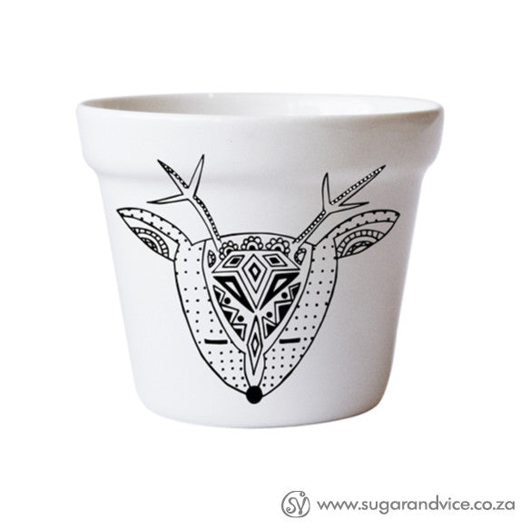 buy-plant-pots-ceramic-handmade-deer-south-africa-cape-town-home-decor