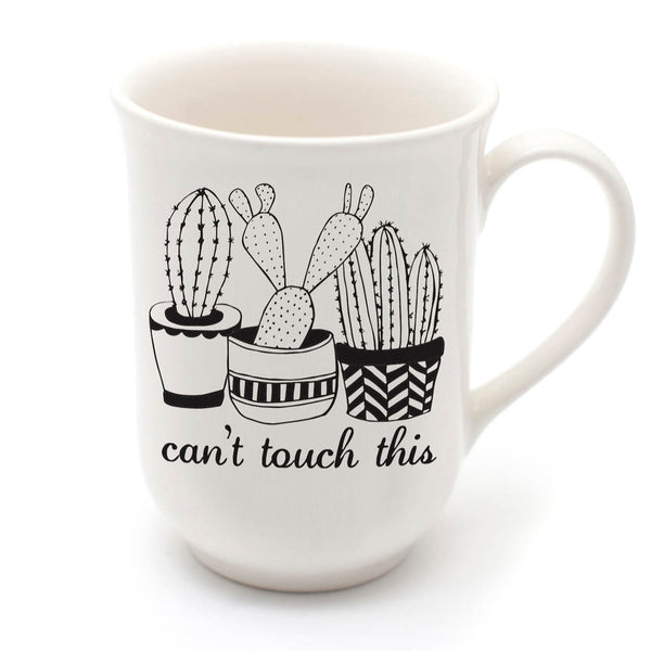 cactus mug - can't touch this - sugar and vice