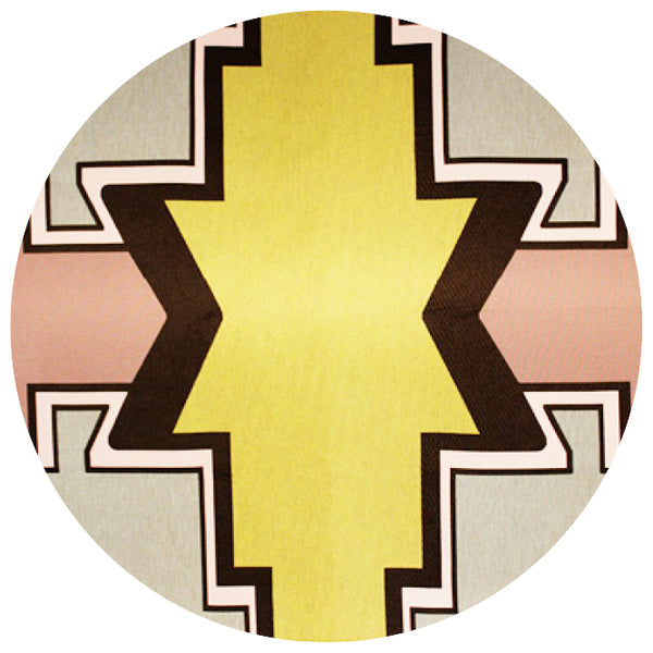 ndebele pattern synthetic rug online - Sugar and Vice