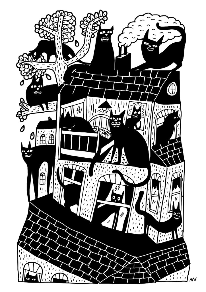 New Print Available: Neighbourhood Cats