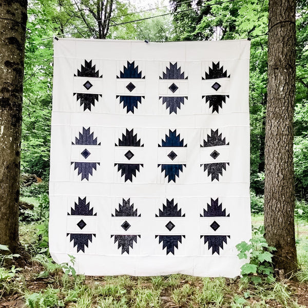 Redwood Coast Quilt made by Amanda Lee Smith, @thequiltsmith