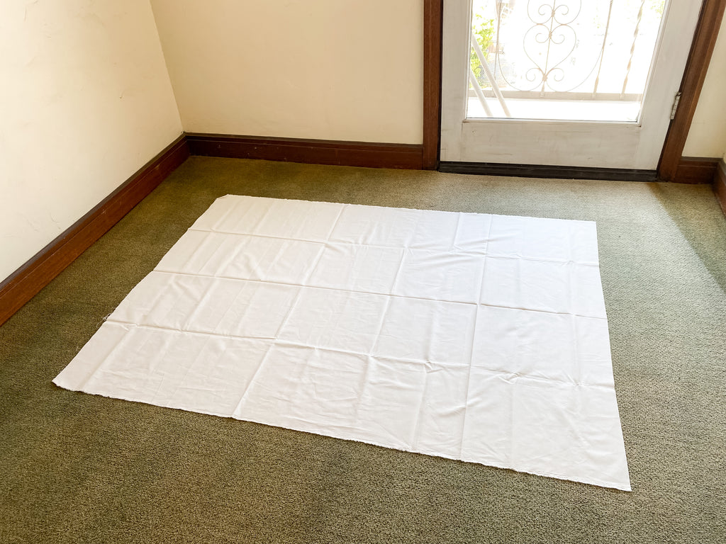 how to baste a quilt - simple stripes quilt - quilt backing