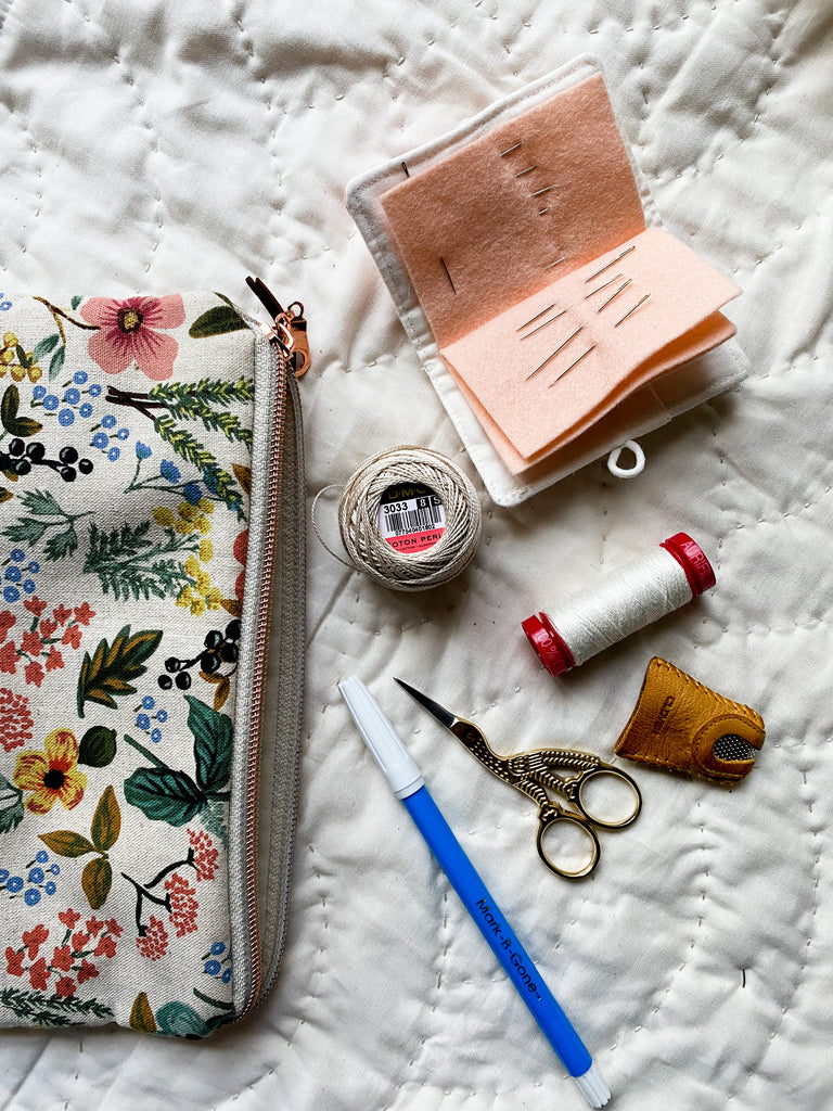 my personal favorite hand quilting tools