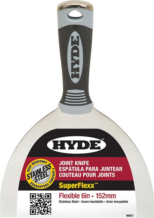 Hyde Pro Stainless Steel Flexible Putty Knife