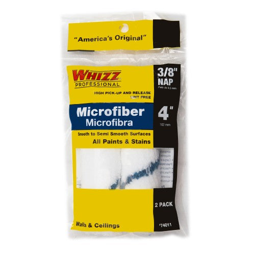 Whizz Xtrasorb Microfiber Paint Roller Covers